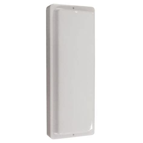 aspects multi use flush mount 1 light outdoor white led