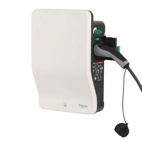 Schneider Electric Evlink 2 Electric Vehicle Charger With