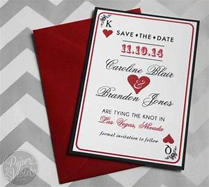 las vegas save the date casino theme save the date with With las vegas inspired wedding invitations