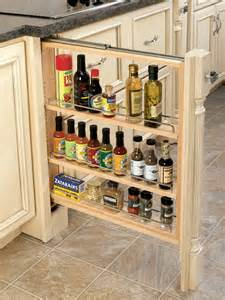 Cabinet Slide Outs by Rev A Shelf Base Filler Pull Out Organizer With Wood