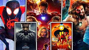 All, 12, Superhero, Movies, In, 2018, Ranked