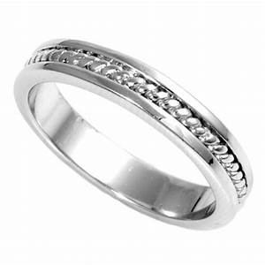 sterling silver womans mens spiral rope ring engagement With spiral wedding ring