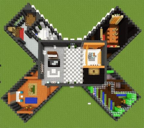 minecraft  shaped house tanishas craft