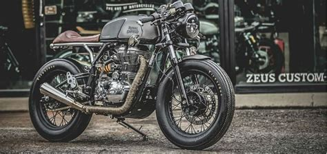 Modification Royal Enfield Continental Gt by 10 Tastefully Modified Royal Enfield Continental Gts
