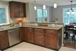 kitchen backsplash idea u shaped kitchen remodel contemporary kitchen dc