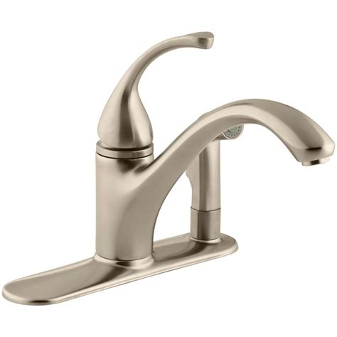 homedepot kitchen faucets bronze kitchen faucets kitchen the home depot