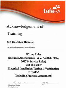 Tafe Course Wiring Rules