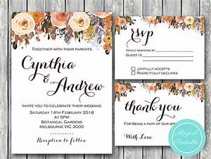 wedding invitations template 9 free psd vector eps With blank fall wedding invitations