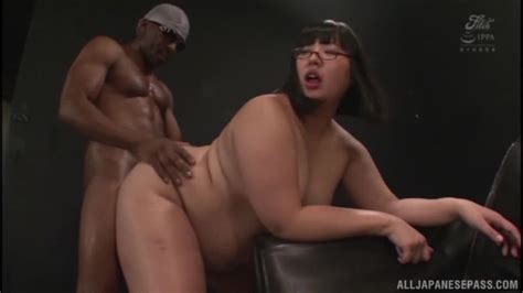 Jp Shavers Japanese Bbw With Glasses Interracial Creampie