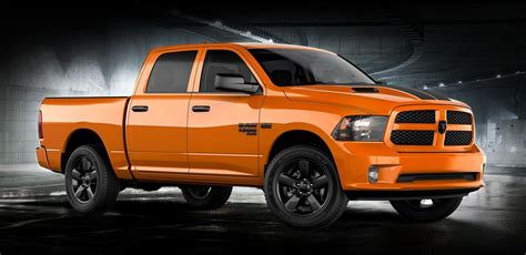 ram  classic express ignition orange special