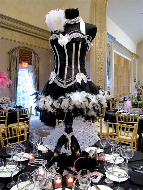 paris theme centerpieces ideas  pinterest