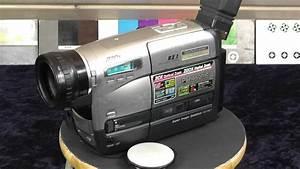 Panasonic Nv-rz 1 Slim Palmcorder Slim Palmcorder Vhs-c Movie Camera