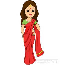 Indian Woman Clip Art Images Free