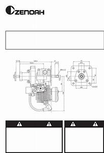 Download Zenoah Automobile Parts G380pu Manual And User