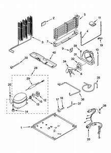 Unit Parts Diagram  U0026 Parts List For Model Et8chmxkq06 Whirlpool