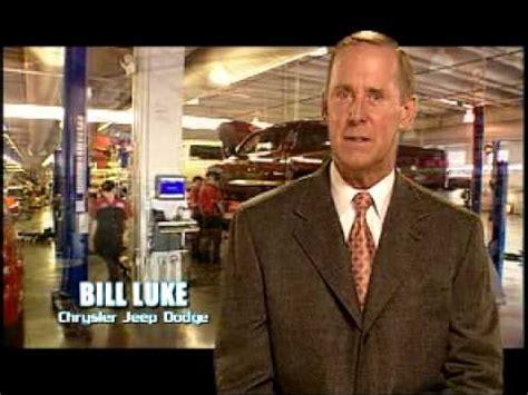 bill luke chrysler jeep dodge  dealership