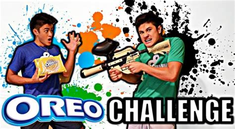 Oreo Taste Test Challenge**loser Shot With Paintball Gun