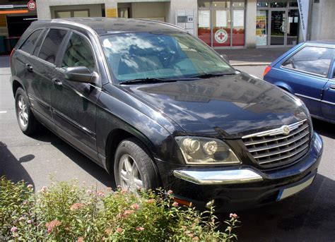 2000 Chrysler Pacifica by File Chrysler Pacifica Schwarz Jpg Wikimedia Commons