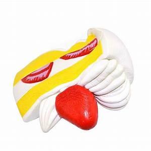 Kiibru Strawberry Cake White Squishy Slow Rising 15*9*14 ...