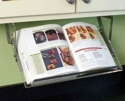 Under cabinet cookbook holder   Gift Ideas