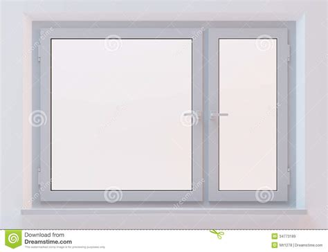 Fenster Weiss by White Plastic Window Royalty Free Stock Images Image