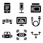 Electronic Devices Icon Device Control Icons Editing