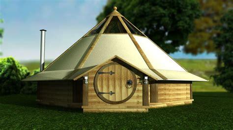 mini hideout house  canvas roof
