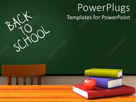 powerpoint template   school classroom