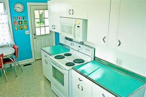 blue formica kitchen quot cusheen quot vinyl counter tops a 1950s option for