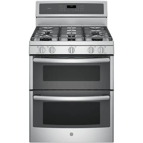 ge gas cooktop shop ge profile 30 in 5 burner 4 3 cu ft 2 5 cu ft