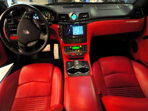 custom maserati interior for sale 2009 maserati granturismo s f1 trans coupe