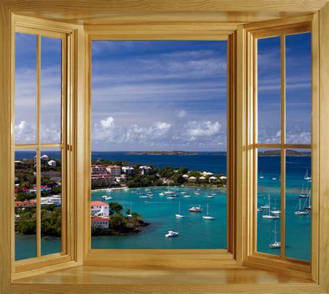 window frame wall mural create  perfect window view
