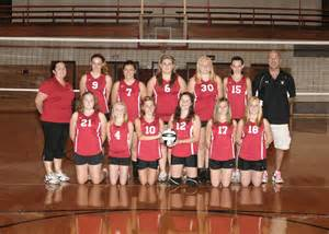 Middle School 7th Grade Volleyball Team