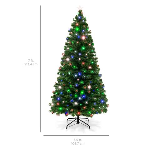 christmas trees at walmart willows ca pre lit fiber optic 7 green artificial tree