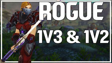 1v3 rogue pvp