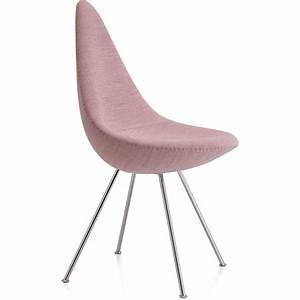 Stuhl Arne Jacobsen : stuhl drop gepolstert von fritz hansen ~ Michelbontemps.com Haus und Dekorationen