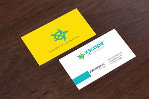 unique  professional dual sided business cards