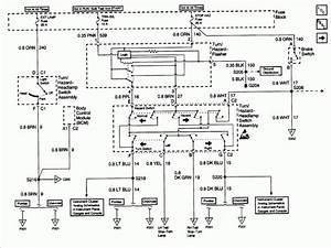 2003 Chevrolet Cavalier Wiring Diagram