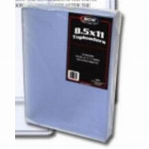 85 x 11 hard plastic topload holders case of 250 bcw With document protectors hard plastic