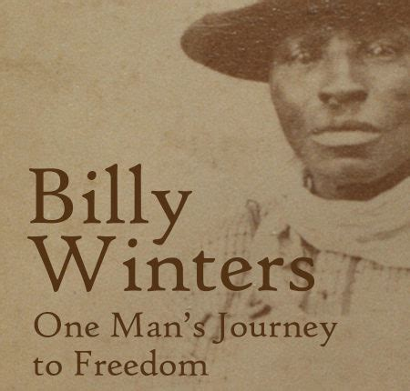 Billy Winters One Man Journey Freedom Book Release