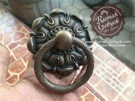handle ring pull tarikan pintu gebyok kuningan antik gby 057 1 handle pintu antik gby 15 rumah gebyok jepara jual
