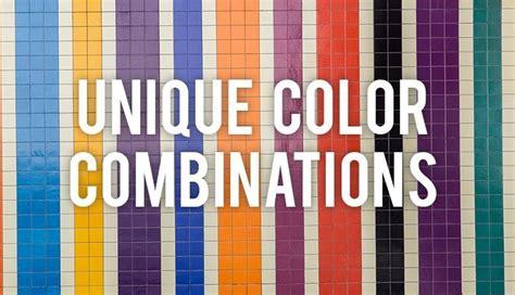 Unique Color Combinations  Rc Willey Blog