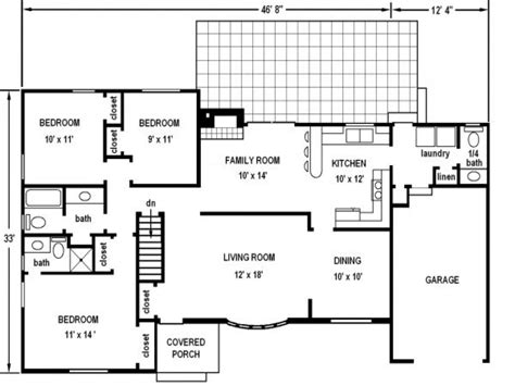 free blueprints for houses design own house free plans free printable house