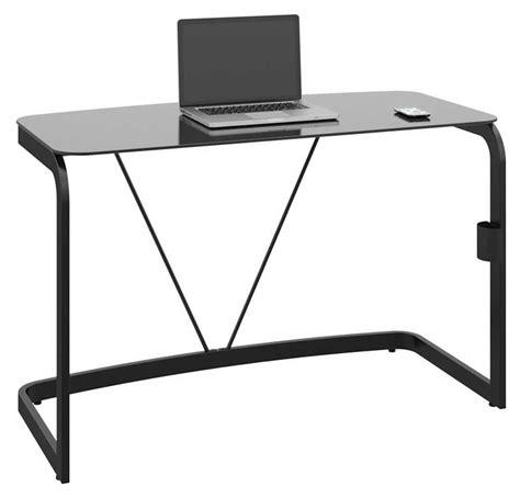 Glass And Metal Computer Desk Black by Metal Computer Desks For Productive Work