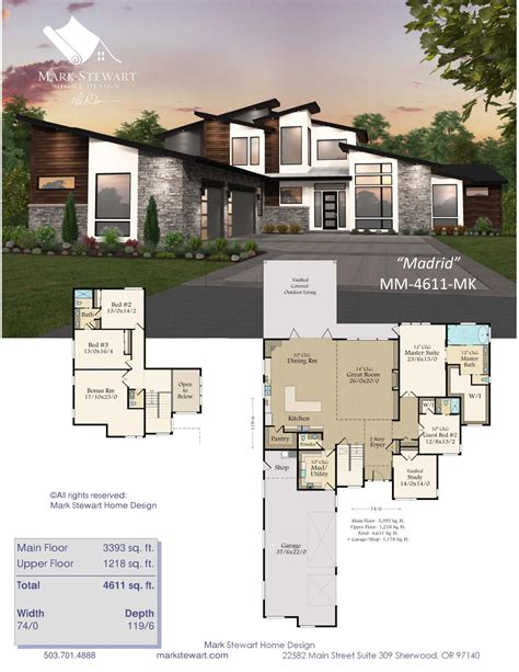 Modern House Floor Plans House Plans and Designs