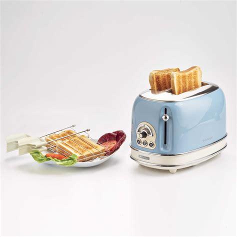 ariete tostapane toaster vintage 2 fette celeste ariete