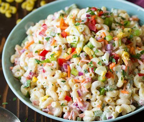 une recette de salade de macaroni aux œufs 224 la coque pour la terrasse