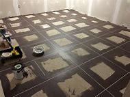 Faux Ceramic Tile Flooring
