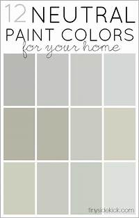 what are the neutral colors How to Choose Neutral Paint Colors + 12 Perfect Neutrals