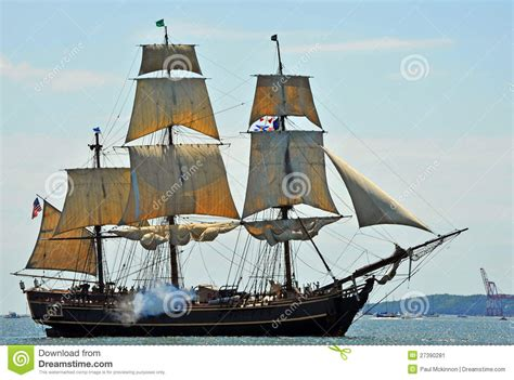 hms bounty replica sinking hms bounty editorial photo image 27390281
